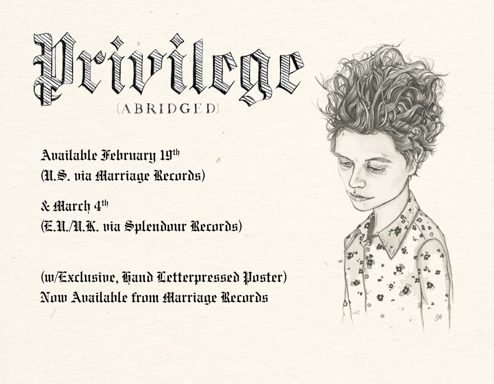 Privilege (Abridged) - Parenthetical Girls
